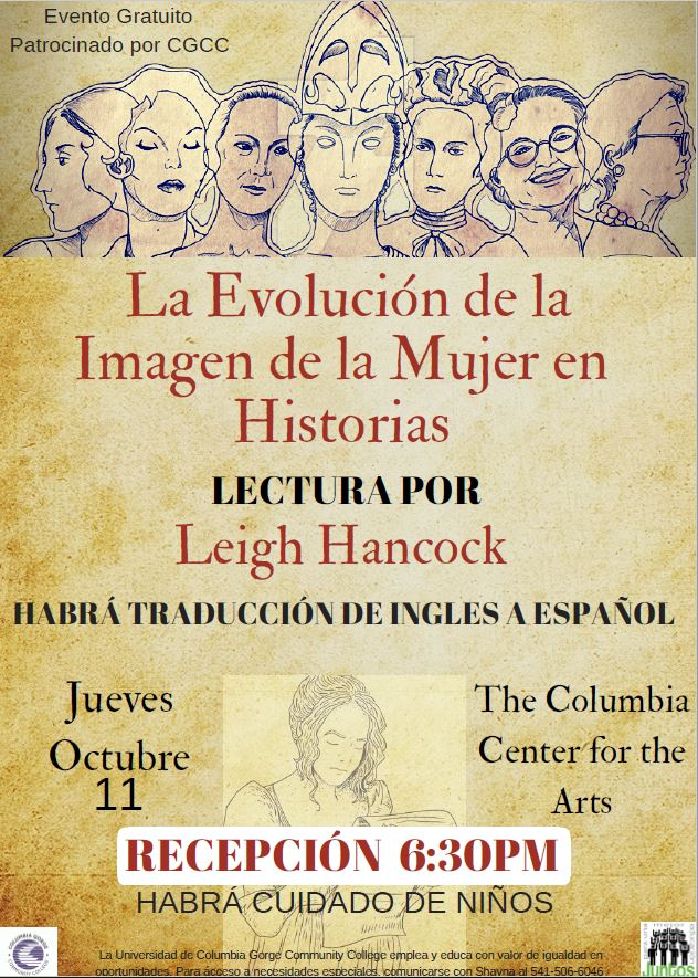 Bilingual Lecture Flyer, Spanish