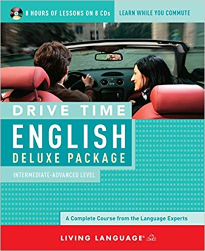 Drive time English deluxe package. Intermediate-advanced level